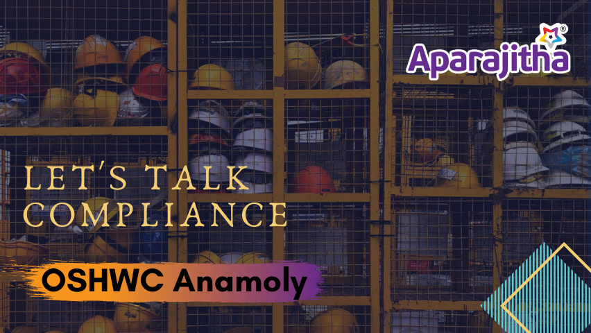 Let's Talk Compliance – OSHWC Anamoly