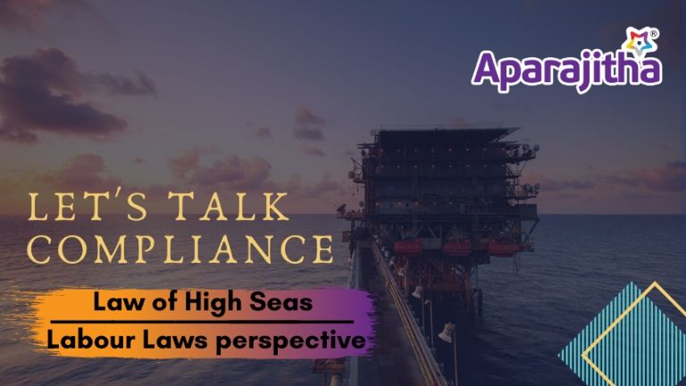 Laws of High Sea and its effect on labour law focused on indutries like Oil rigs, petroleum refineries etc.