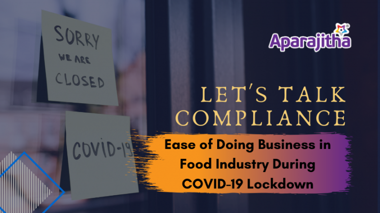 EoD in Food Industry During COVID19 pandemic