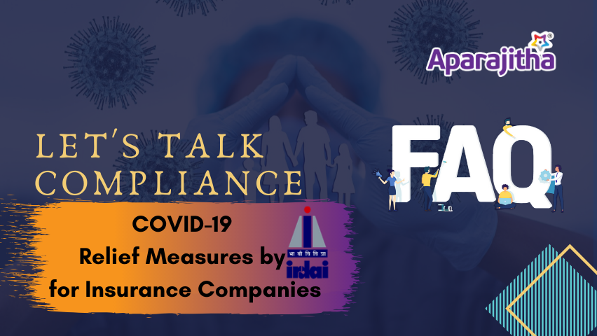 COVID-19 Relief Measures by IRDAI for Insurance Companies